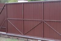 Изготовление откатных ворот и комплектующих своими руками