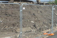 Временное ограждение строительной площадки: виды и устройство