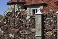Кованные ворота и калитка своими руками