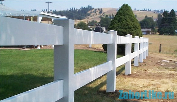 Забор американский