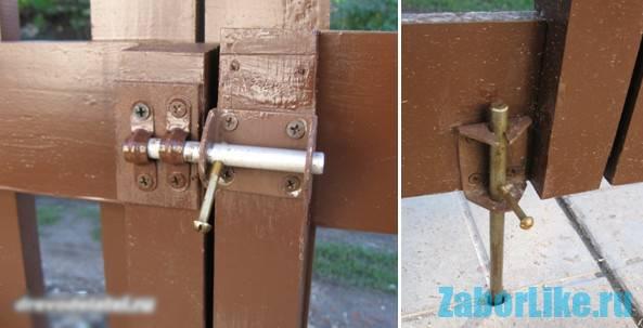 Шпингалет для ворот