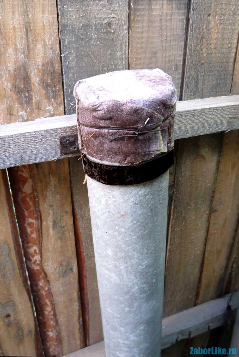 Труба для дымохода из асбестовых труб своими руками